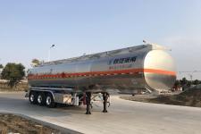 陕汽牌SHN9400GRYP460型铝合金易燃液体罐式运输半挂车图片