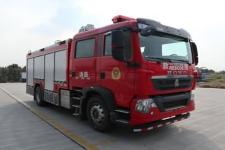 国六重汽压缩空气泡沫消防车|国六城市主站泡沫消防车质量过硬