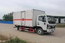 国六东风福瑞卡4米1易燃气体厢式运输车