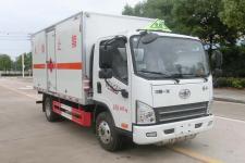国六解放虎VN 4.1米易燃气体厢式运输车