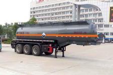楚飛9.9米31.5噸3軸腐蝕性物品罐式運輸半掛車(CLQ9400GFWD)