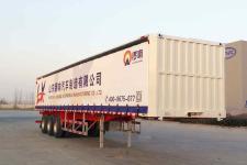 锣响13米32.7吨3轴厢式运输半挂车(LXC9400XXY)