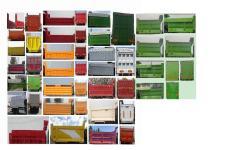 豪沃牌ZZ3317V4867F1L型自卸汽车图片