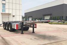 中集9.8米35.1噸3軸危險品罐箱骨架運輸半掛車(ZJV9400TWYQDL)