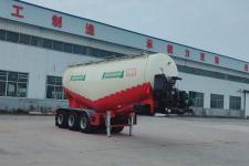 梁旭8.8米32.5噸3軸中密度粉粒物料運輸半掛車(MGY9400GFL)