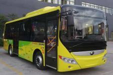 宇通牌ZK6815BEVG20型纯电动城市客车图片