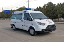 国六江铃特顺救护车|HNY5049XJHSD6型救护车