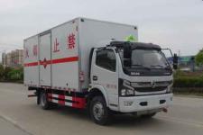 国六东风凯普特5.18米易燃气体厢式运输车