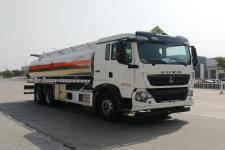 楚胜牌CSC5267GYYLZ6型铝合金运油车