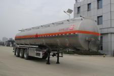 醒狮12米33.7吨3轴易燃液体罐式运输半挂车(SLS9400GRYB)