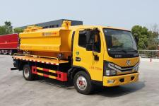 程力威牌CLW5073GQW6型清洗吸污车