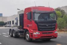 金龙牌XMQ4250BEVL型换电式纯电动半挂牵引车图片