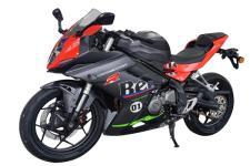 贝纳利牌BJ250GS-D型两轮摩托车图片