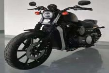 建设牌JS700-3D型两轮摩托车图片