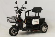 绿佳牌LJ500DQZ型电动正三轮轻便摩托车图片