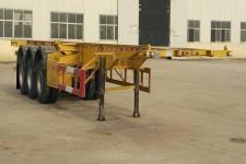 坤博12.4米33.7吨3集装箱运输半挂车