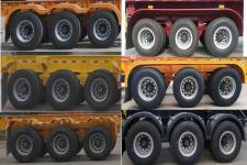 坤博牌LKB9401TJZ型集装箱运输半挂车图片
