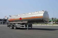 华威驰乐10米29吨2铝合金运油半挂车