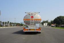华威驰乐牌SGZ9356GYY型铝合金运油半挂车图片