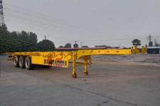 老于14米34.5吨3轴集装箱运输半挂车(HMV9400TJZ)