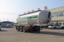 醒狮9.1米31.8吨3轴中密度粉粒物料运输半挂车(SLS9400GFLA)