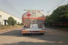 天威缘牌TWY9402GYYL型铝合金运油半挂车图片