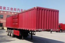 庄宇10.5米32.5吨3轴厢式运输半挂车(ZYC9401XXYA)
