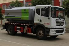 东风D9多利卡12-15方高压清洗吸污车价格
