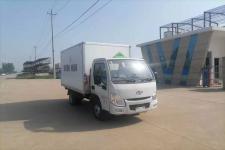 国六跃进3米小型医疗废物收集转运车|3米蓝牌医疗废物转运车