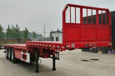 淮光12.5米33.9吨3轴平板运输半挂车(AGK9400TPBE)