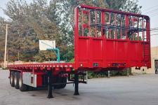 聚运达9.5米34.4吨3轴平板运输半挂车(LZY9401TPB)