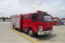 五十铃3.5吨泡沫消防车_五十铃消防车图片_3.5吨消防车