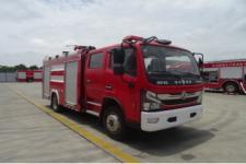 5吨东风多功能水罐消防车_东风5吨水罐消防车