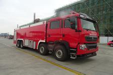 大型25吨泡沫消防车_前四后八消防车_25吨消防车图片