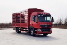 豪沃牌ZZ5167CCYK501GF1型仓栅式运输车
