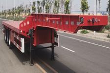 燕赵春晖牌HHC9400TDP型低平板半挂车