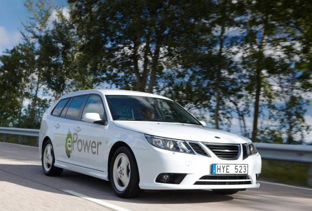 依靠萨博平台 国能新能源汽车项目启动高清图片
