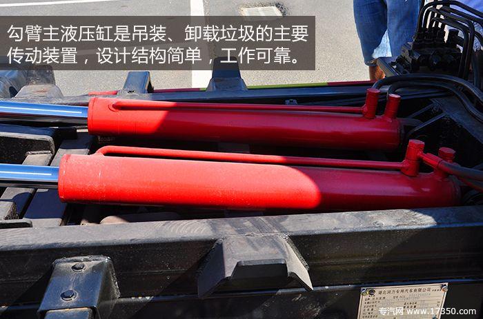 新闻频道首页 评测 正文  勾臂垃圾车主液压缸是吊装,卸载垃圾的主要图片