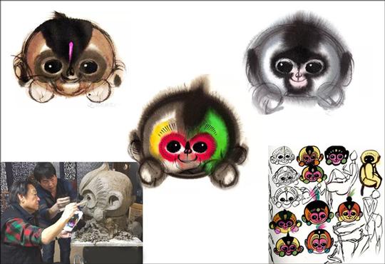 从猴年春晚吉祥物看国内汽车设计图片