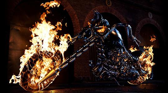 黑色炫酷背景素材 火焰