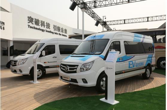 风景g9纯电动为代表的新能源汽车产品的推出,意味着福田商务汽车迈出