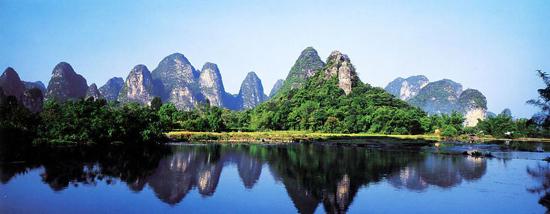 电脑主题 桂林风景