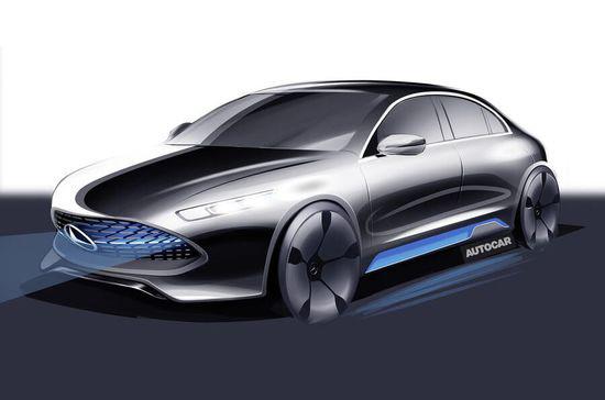 抢占新能源市场 奔驰加快电动汽车研发