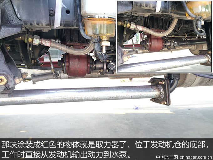 城市绿化好助手 东风153绿化喷洒车评测 上装篇 专用车