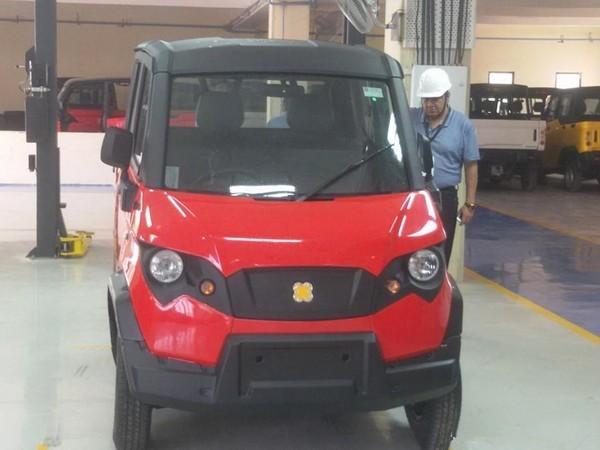 10马力的印度小卡车 百公里油耗3.5升