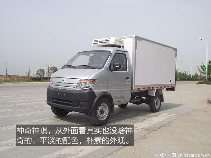 长安神琪,冷藏��?懵逼的冷藏��?专用��?评测,3米冷藏车,长安神琪冷藏��?(3).JPG
