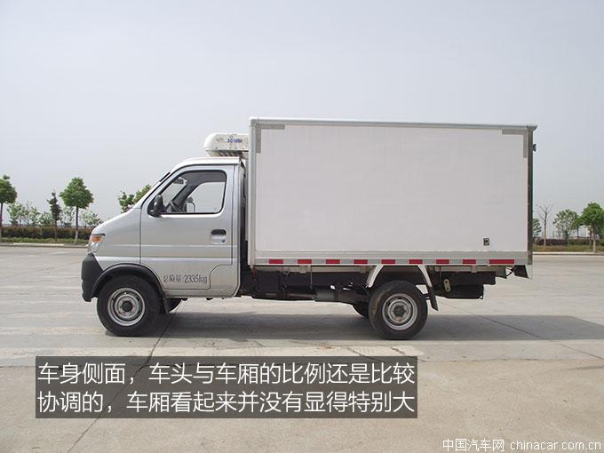 长安神琪,冷藏��?懵逼的冷藏��?专用��?评测,3米冷藏车,长安神琪冷藏��?(4).JPG