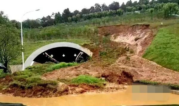 湖北省武汉市武昌区东湖风景区内东湖团山隧道西侧由北向南方向垭口