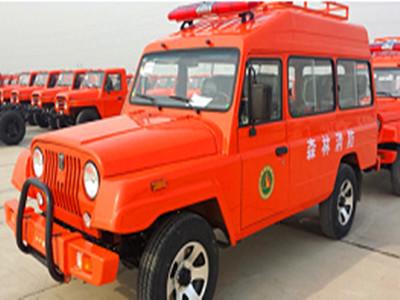 消防运兵车