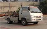福田小卡之星车厢可卸式垃圾车